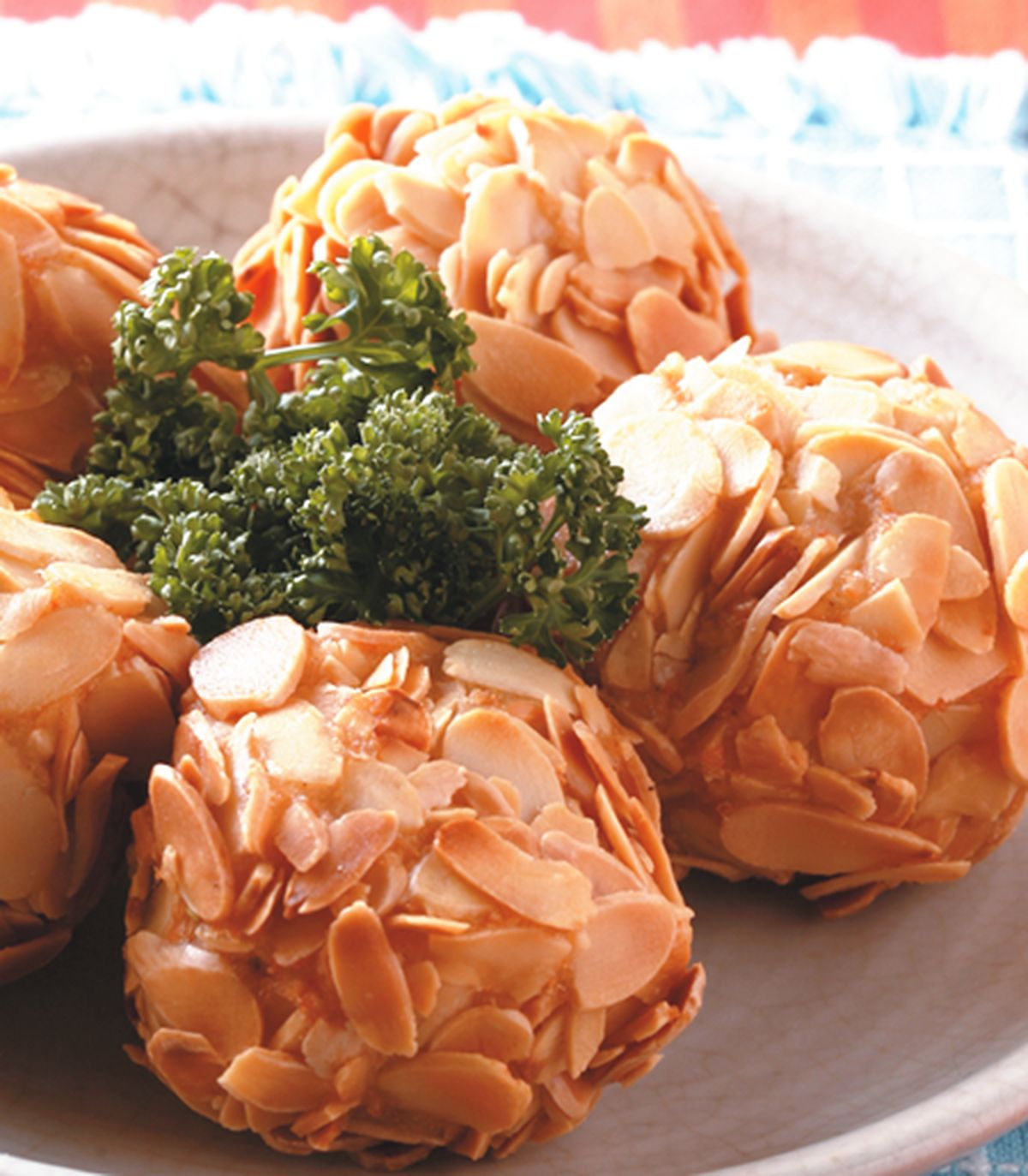 食譜:杏片蝦球(1)