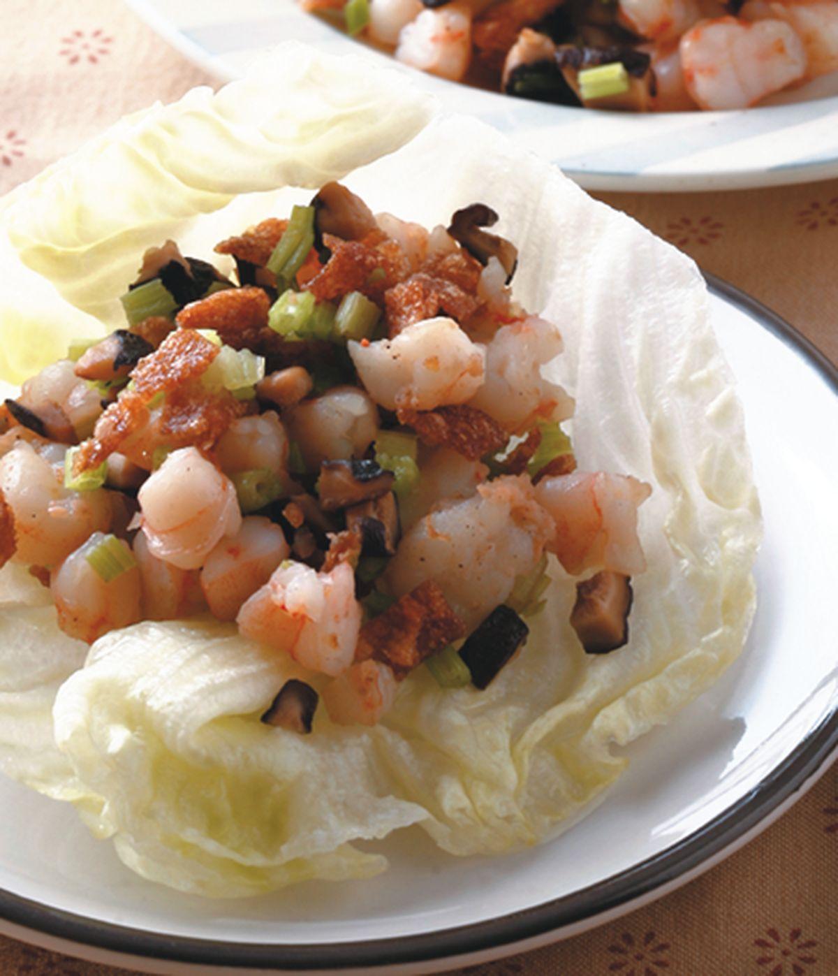 食譜:生菜蝦鬆(1)