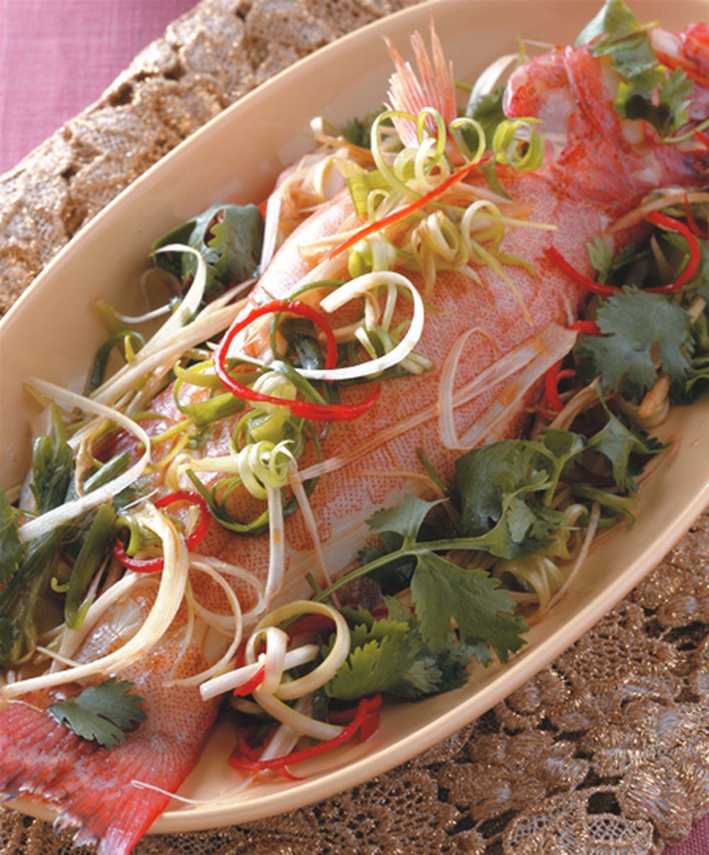 食譜:清蒸魚(2)