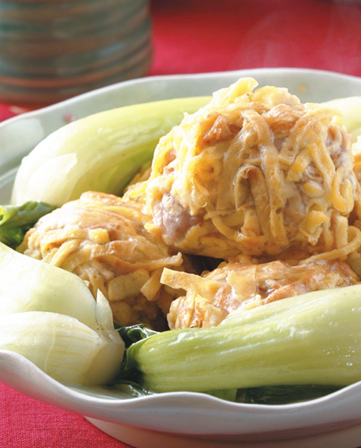 食譜:東坡繡球(2)