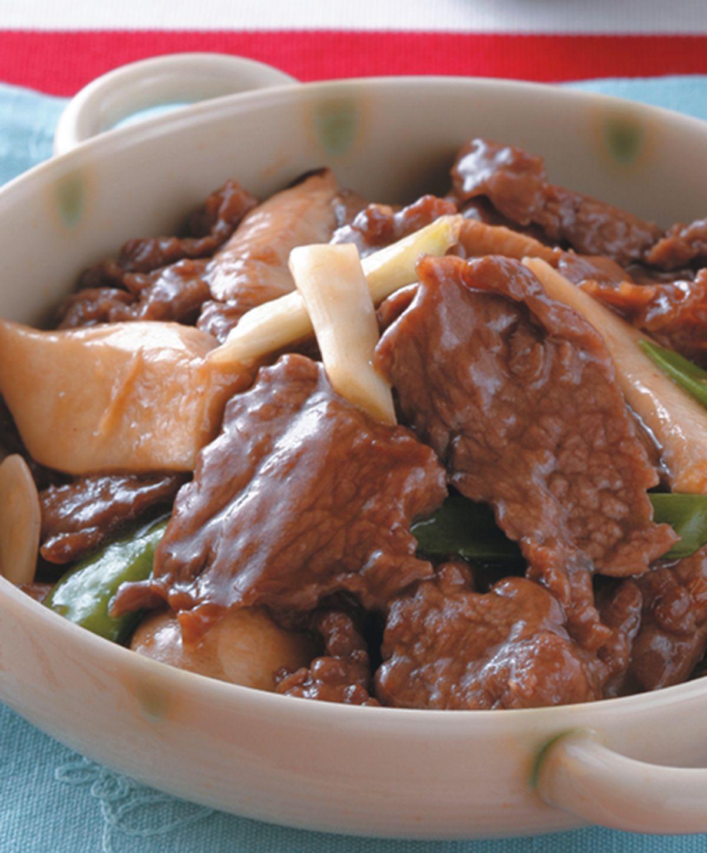 食譜:蠔油鮑魚菇牛肉