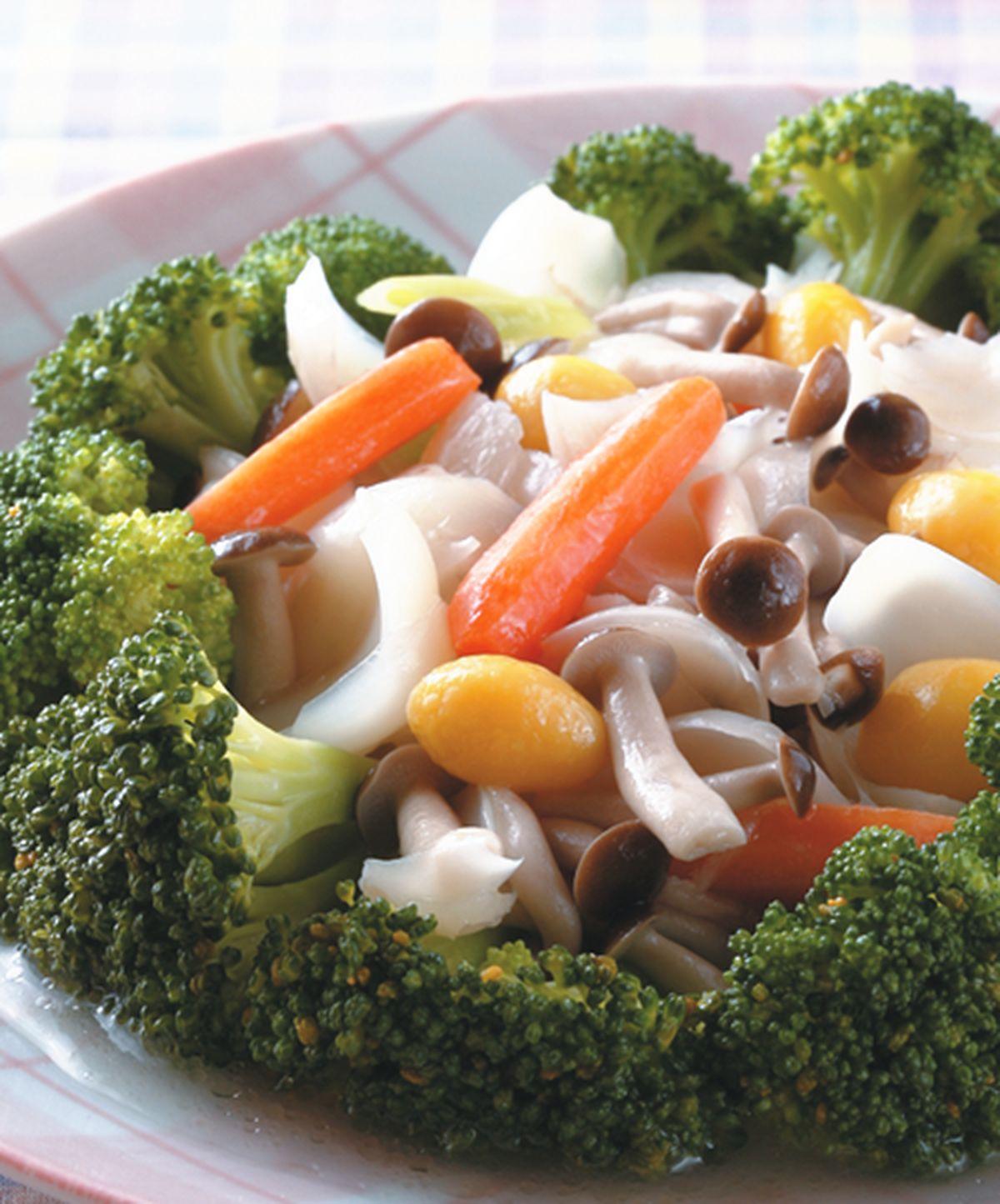 食譜:百合燴鮮蔬