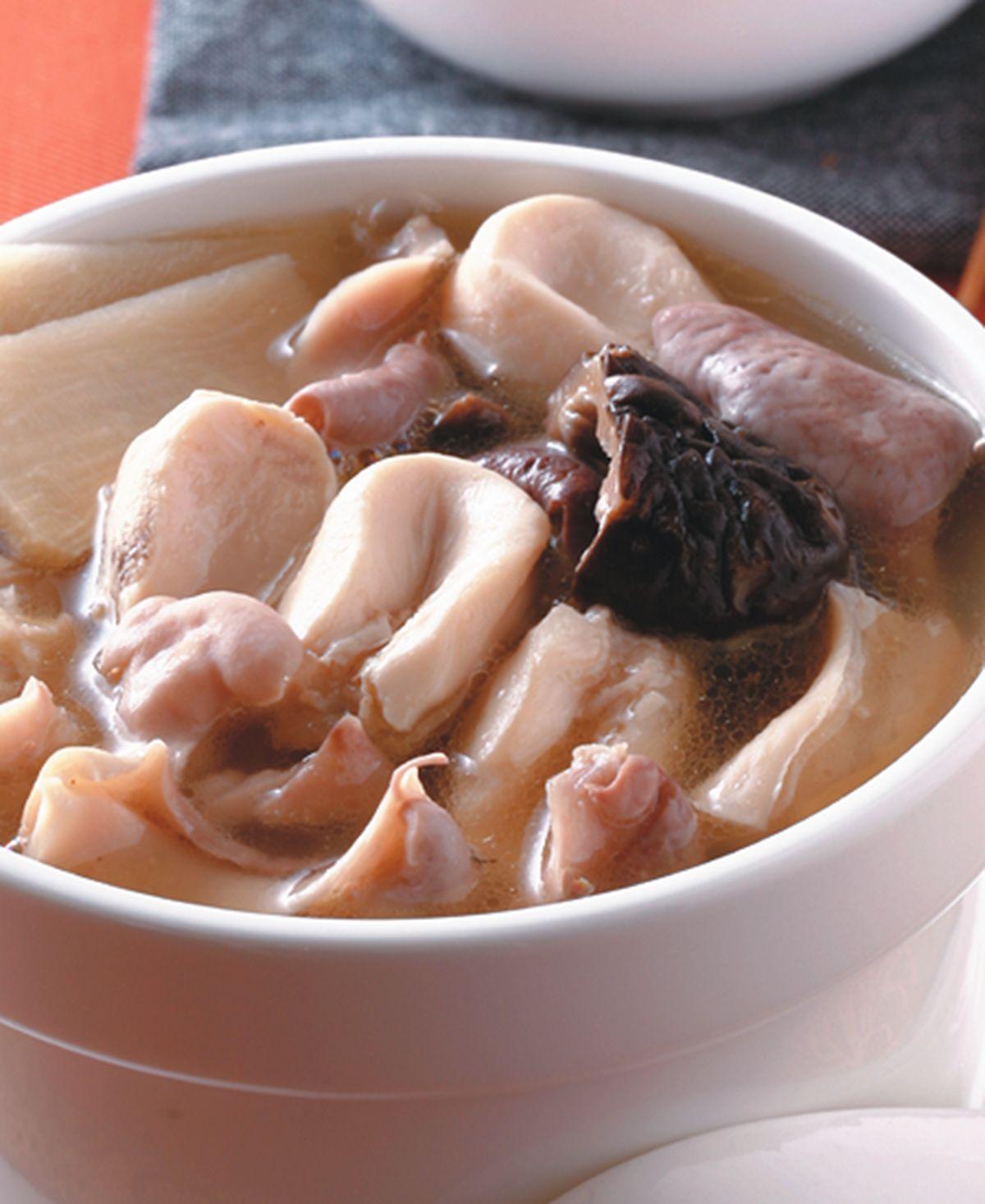 食譜:鮑貝豬肚湯