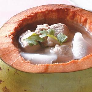 椰子排骨湯