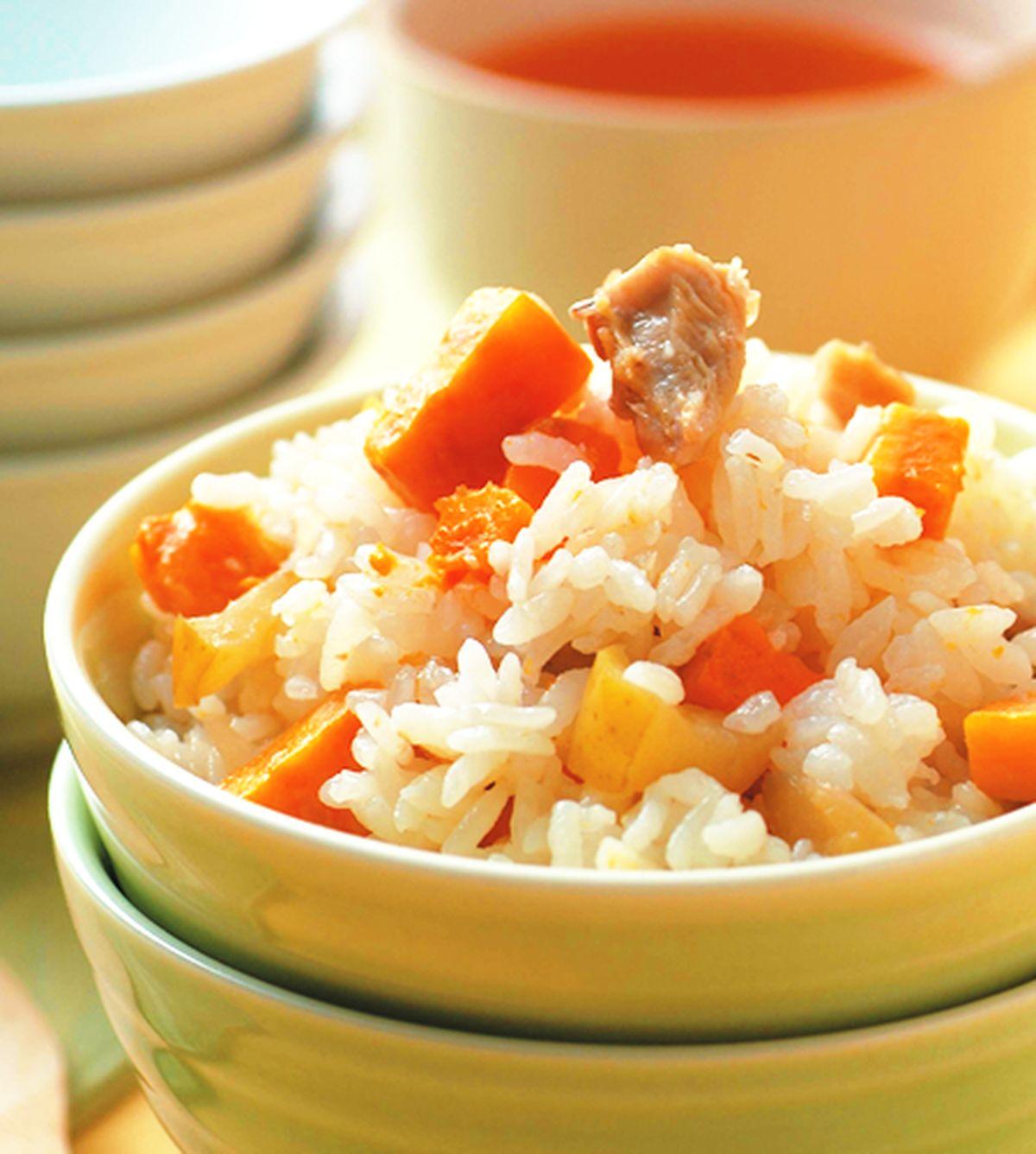 食譜:地瓜炊飯