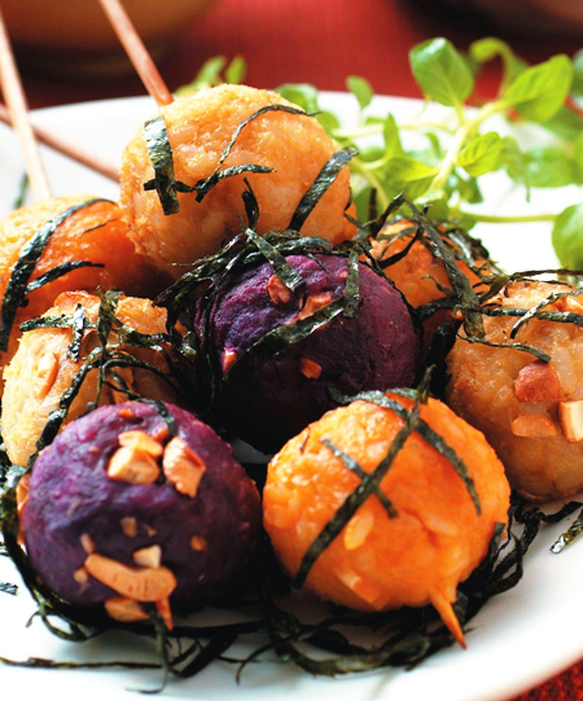 食譜:地瓜丸子(1)