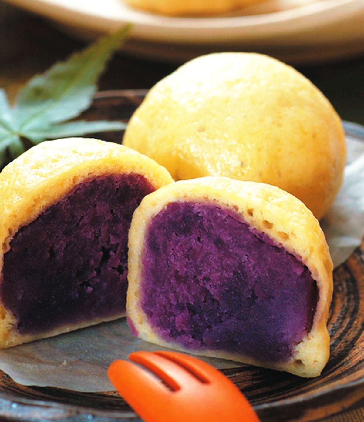 食譜:日式地瓜饅頭