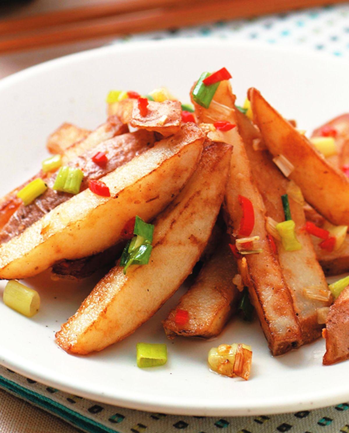 食譜:椒鹽馬鈴薯條
