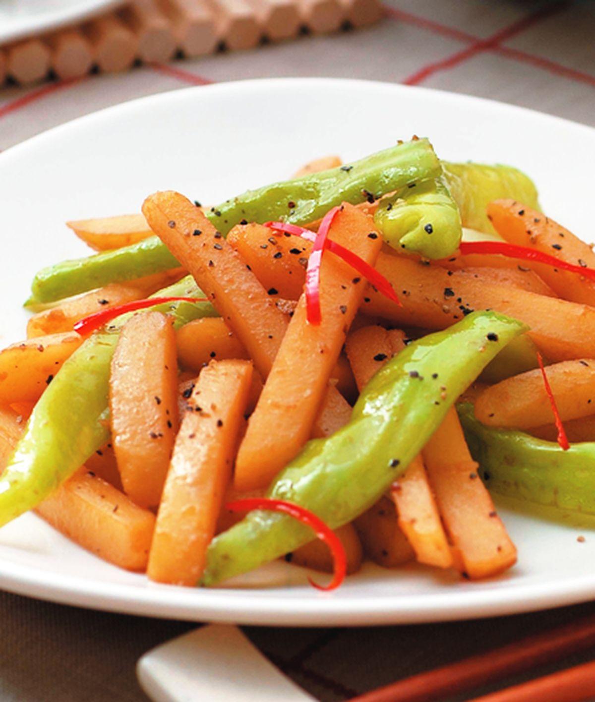 食譜:清炒馬鈴薯條