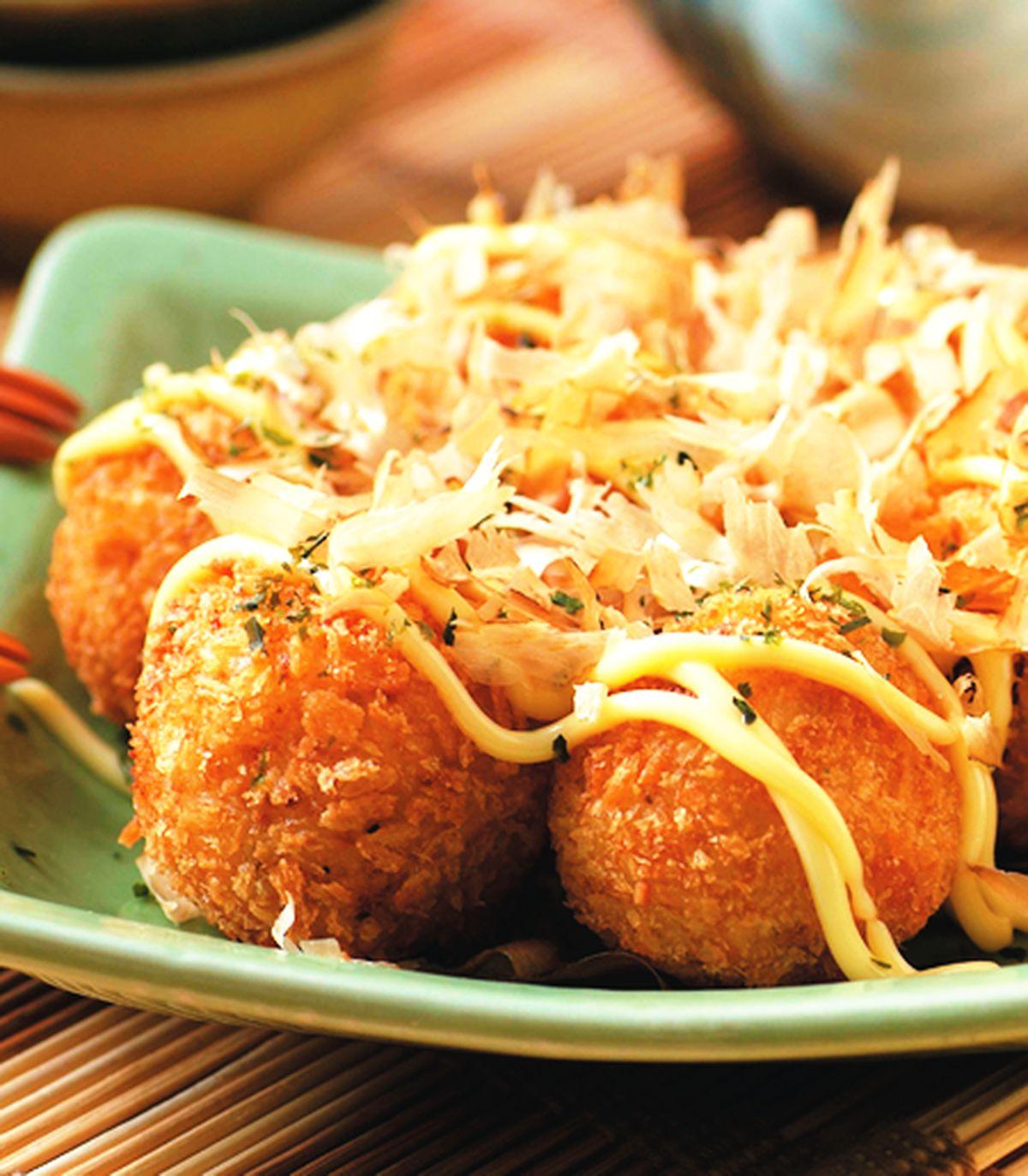 食譜:馬鈴薯章魚丸子
