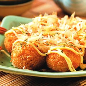 馬鈴薯章魚丸子