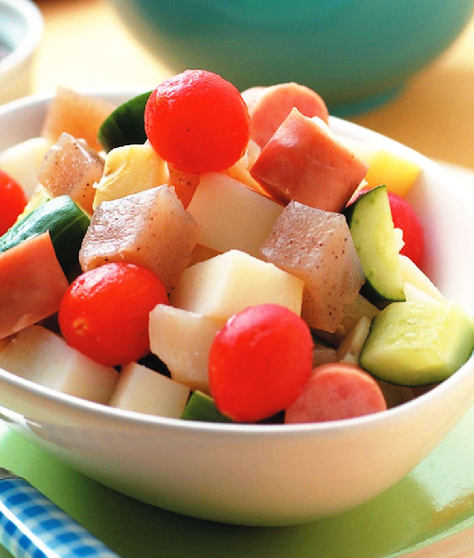 食譜:馬鈴薯溫製沙拉