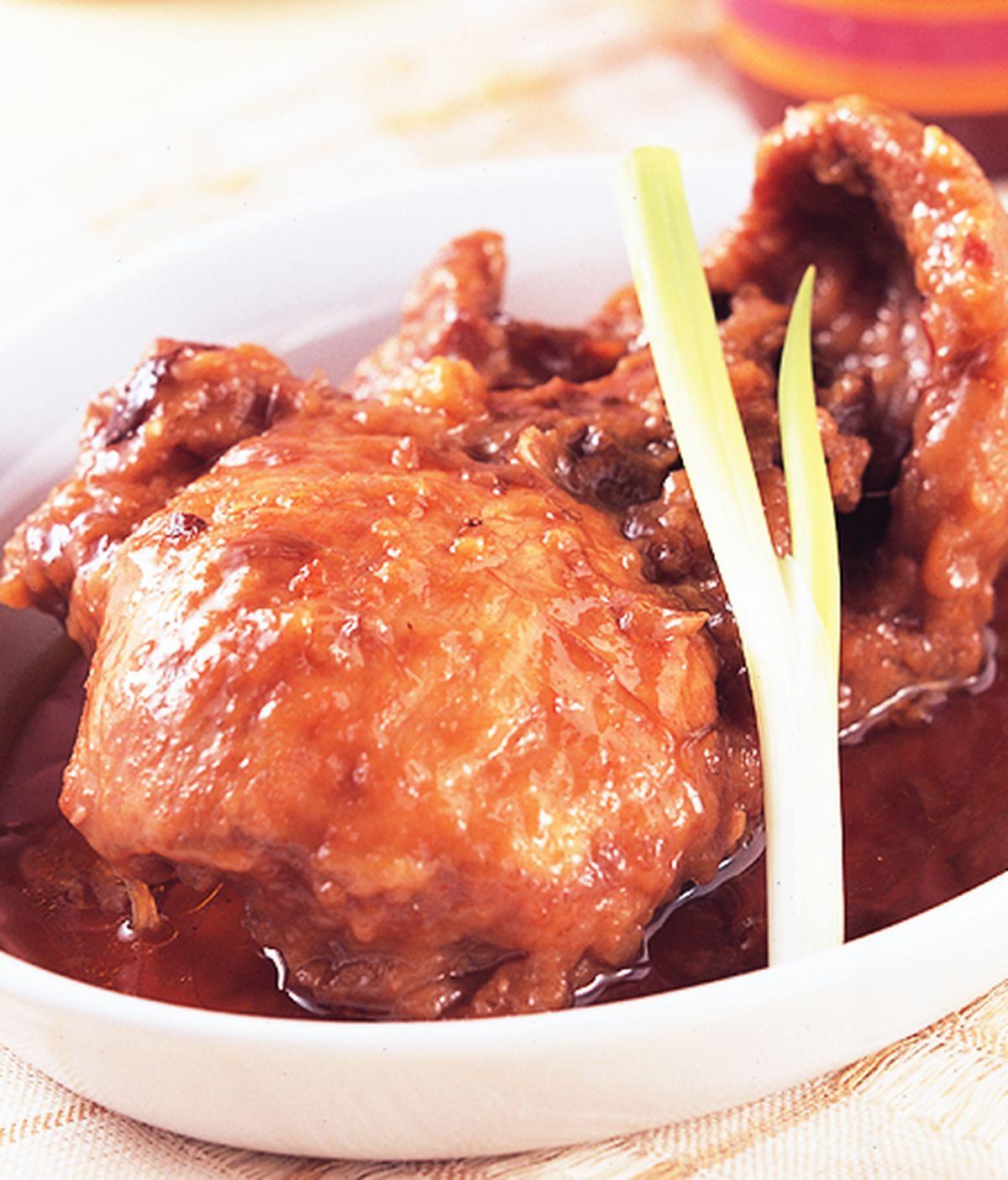 食譜:蔥燒排骨(2)
