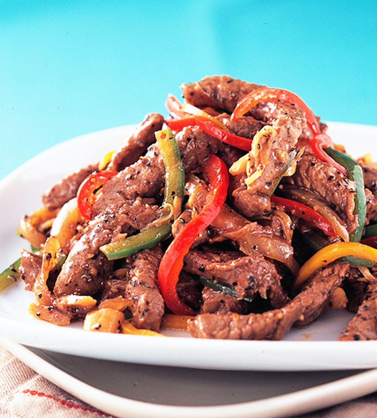 食譜:黑胡椒牛柳