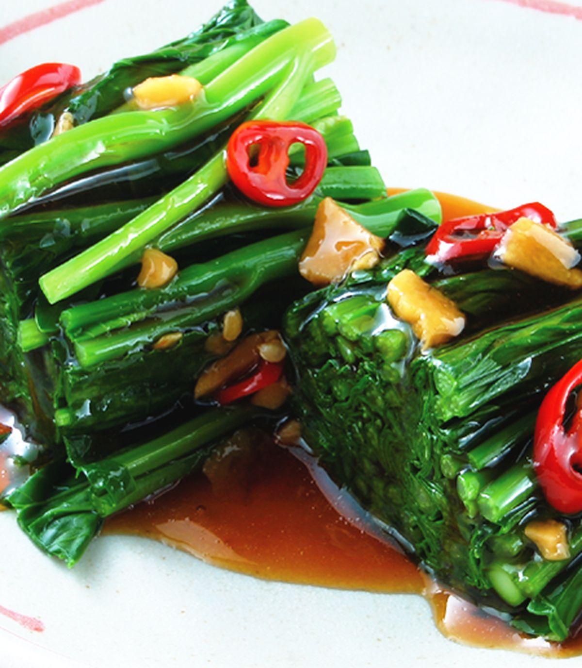食譜:蠔油芥蘭(1)