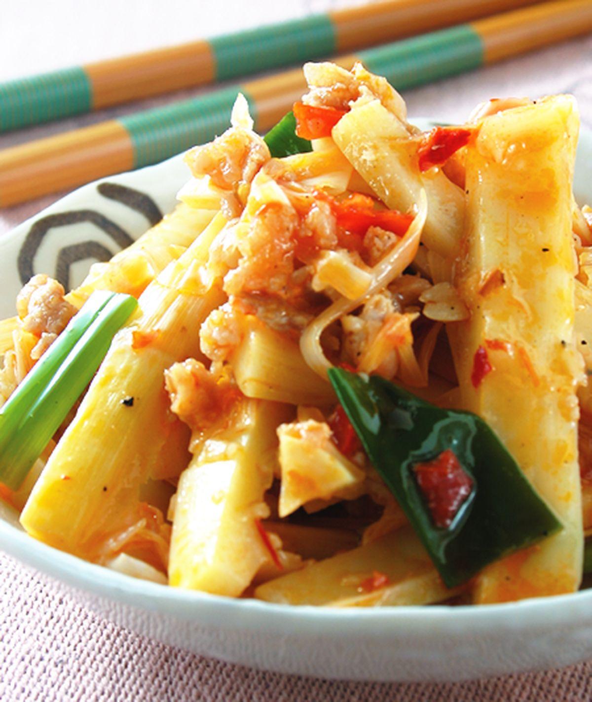 食譜:辣豆瓣桂竹筍