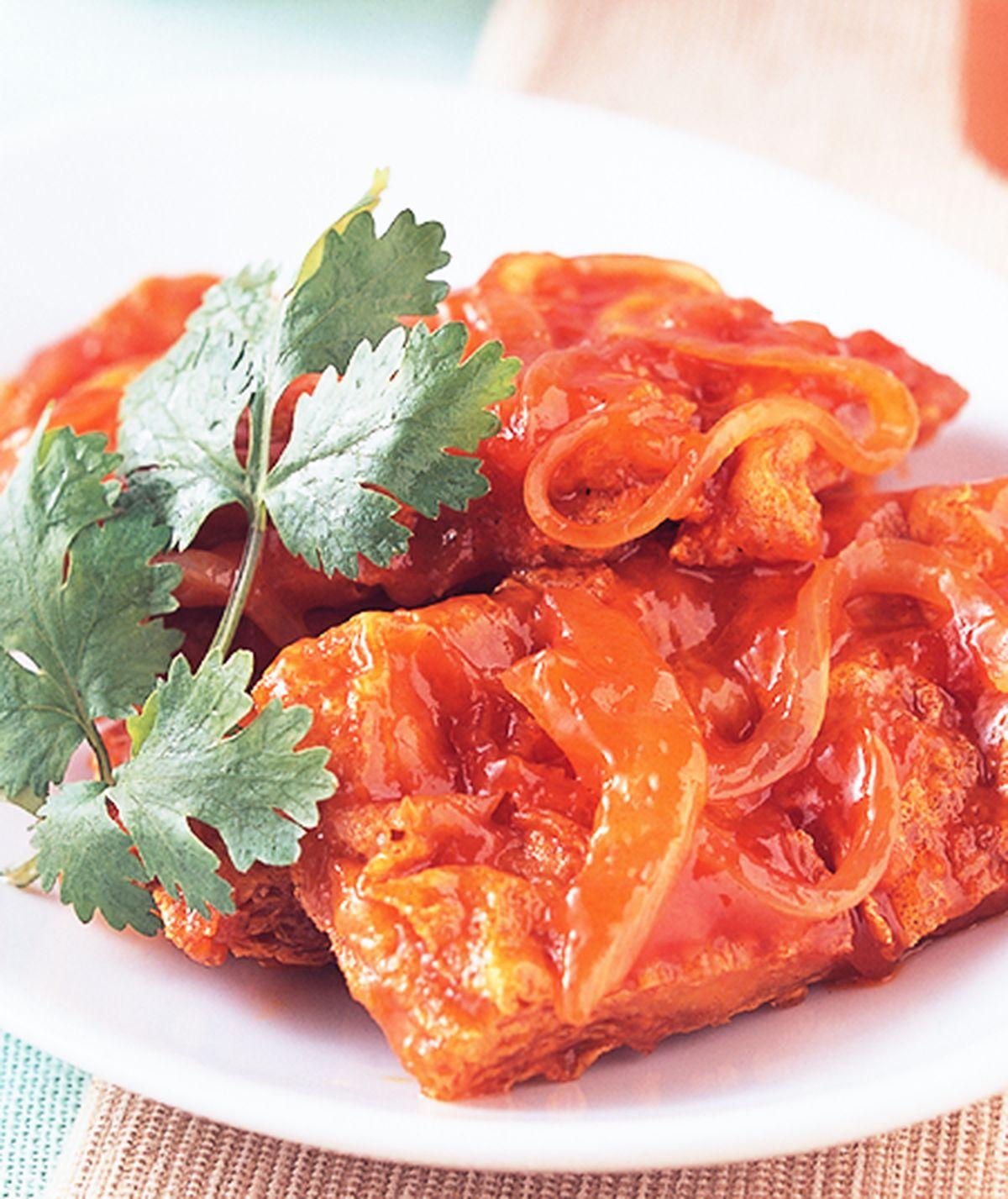 食譜:茄汁豆包
