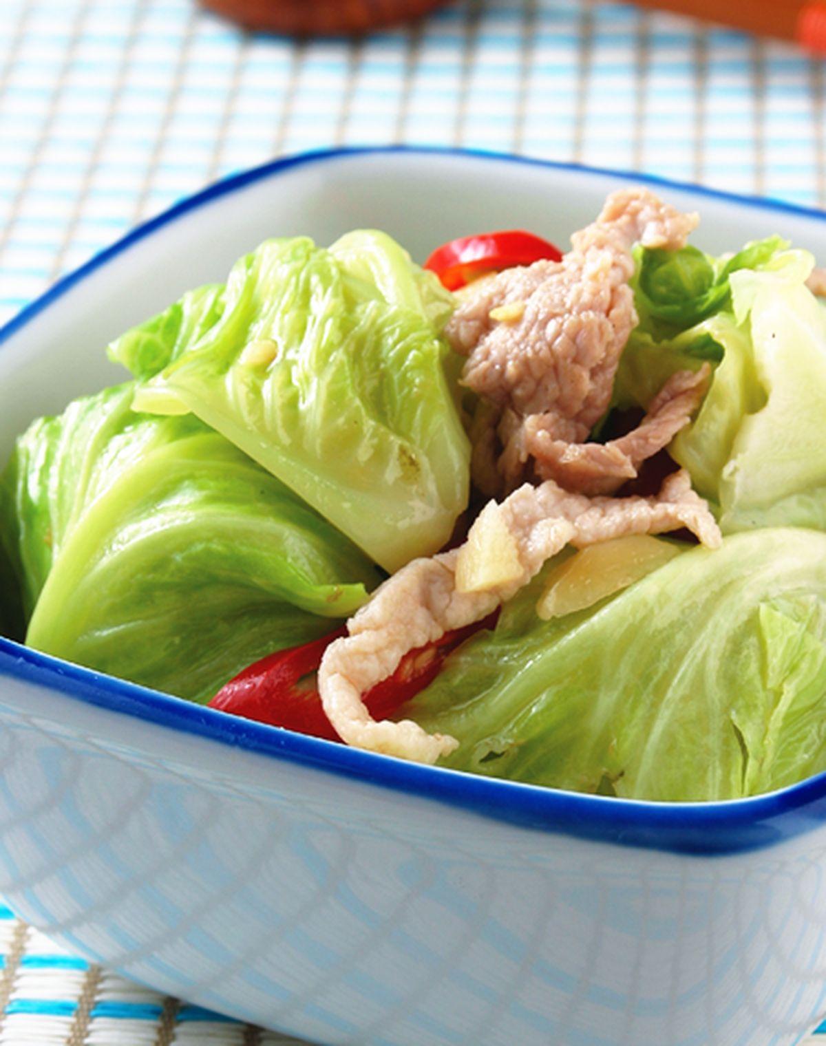 食譜:炒高麗菜苗