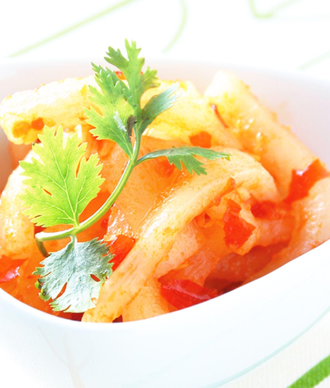 食譜:辣蘿蔔干(1)