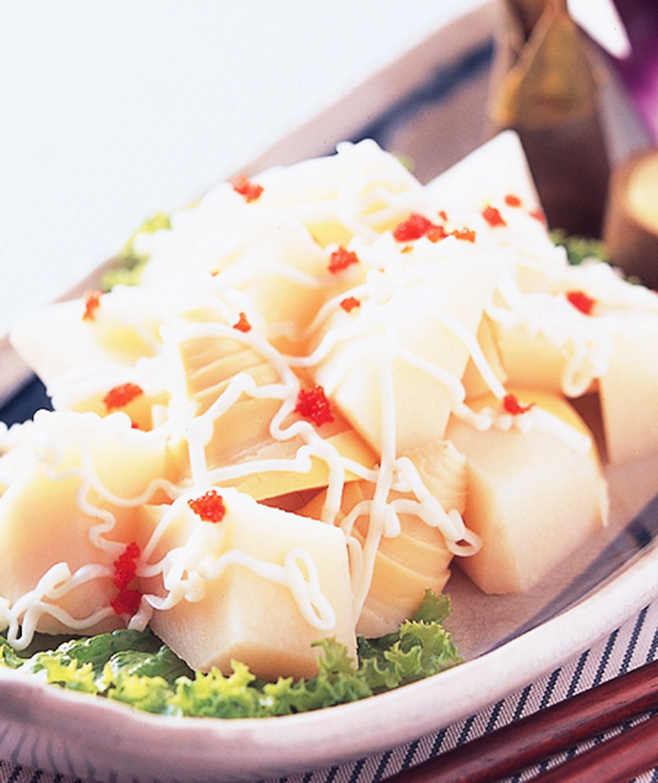 食譜:綠竹筍沙拉
