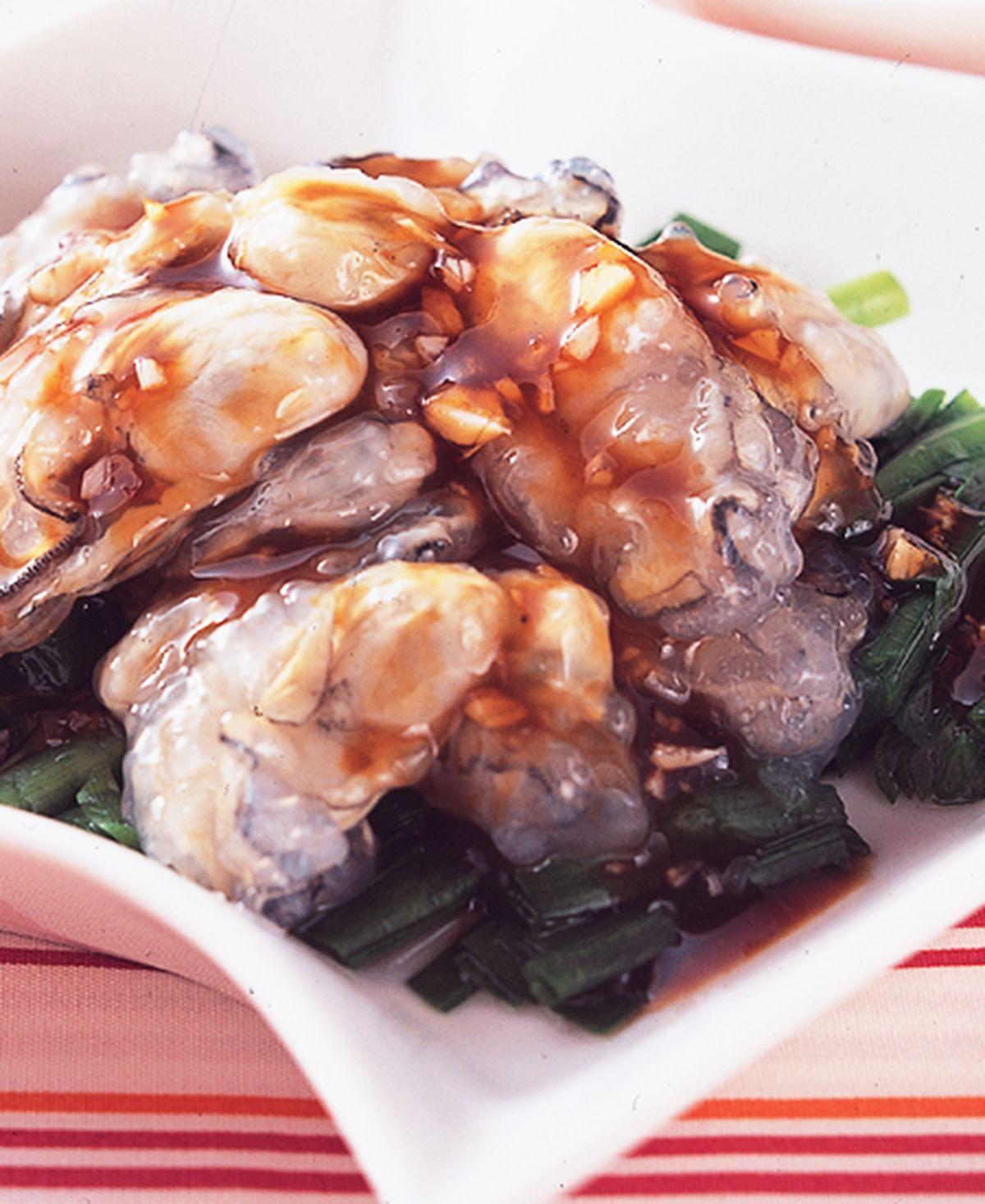 食譜:蒜味鮮蚵