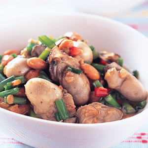 豆醬炒鮮蚵