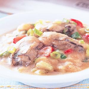 味噌炒鮮蚵