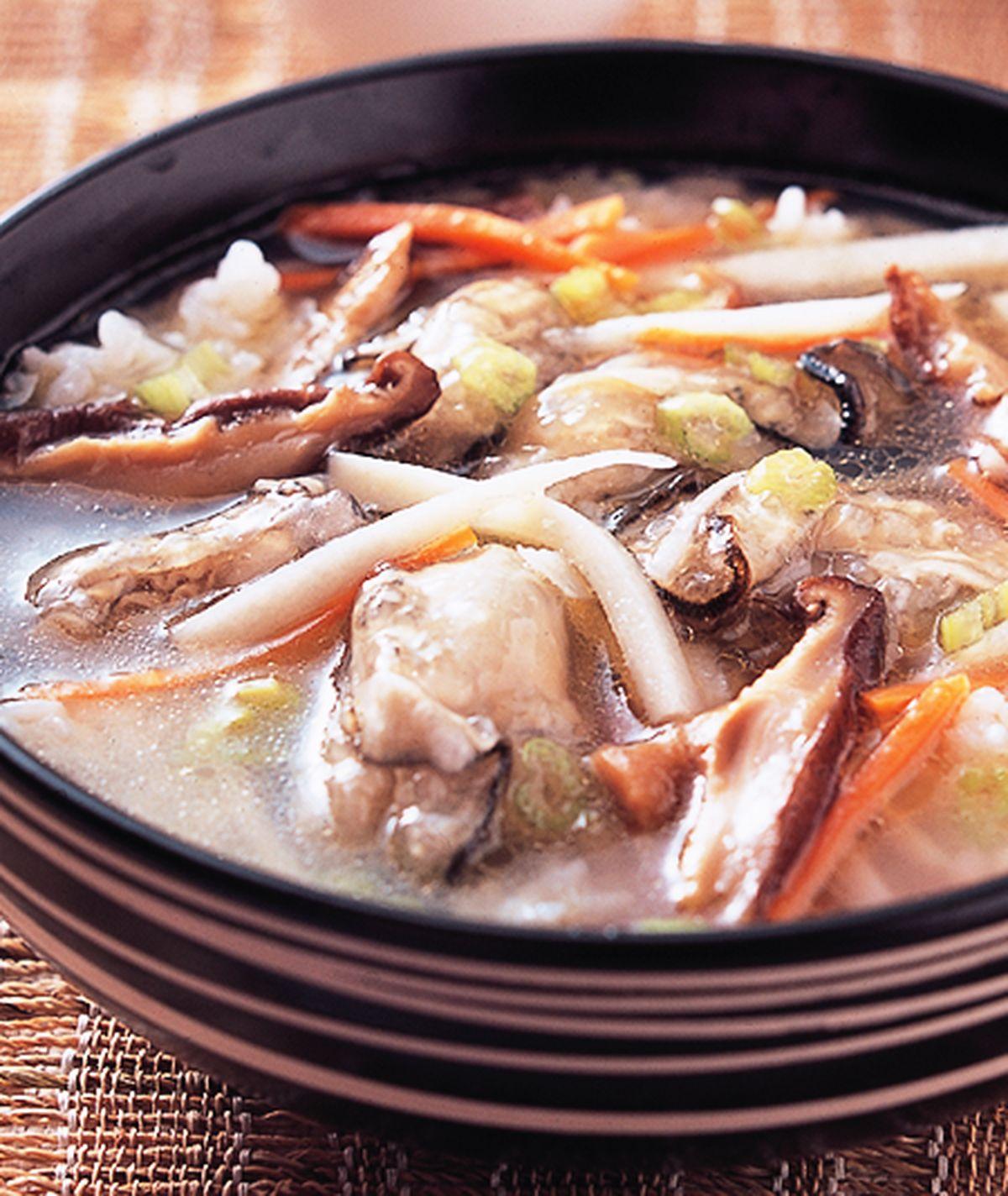 食譜:蚵仔仁飯湯