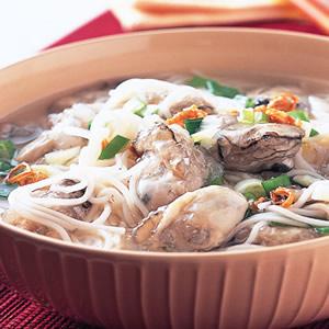 鮮蚵長壽麵線