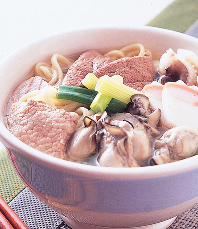食譜:蚵仔什錦湯麵