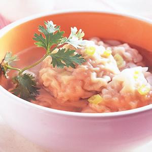 鮮蚵大餛飩湯