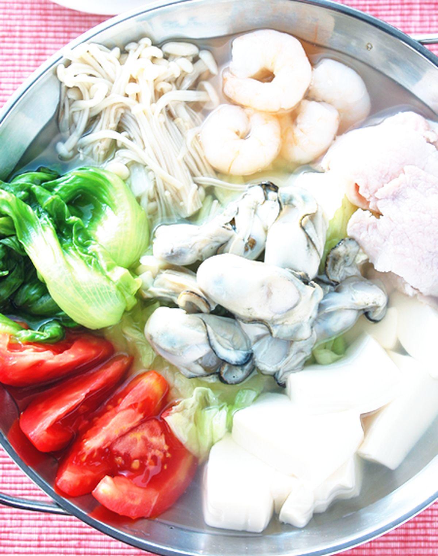 食譜:牡蠣涮涮鍋