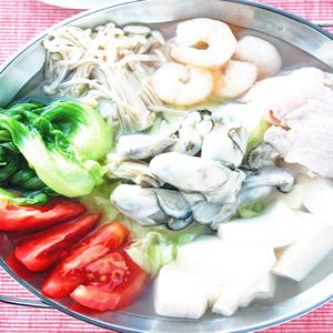 牡蠣涮涮鍋