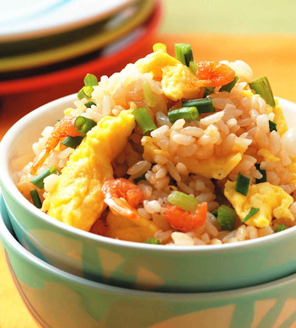 食譜:珠蔥蛋炒飯