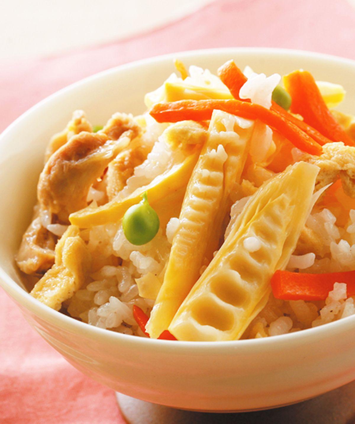食譜:筍香炊飯