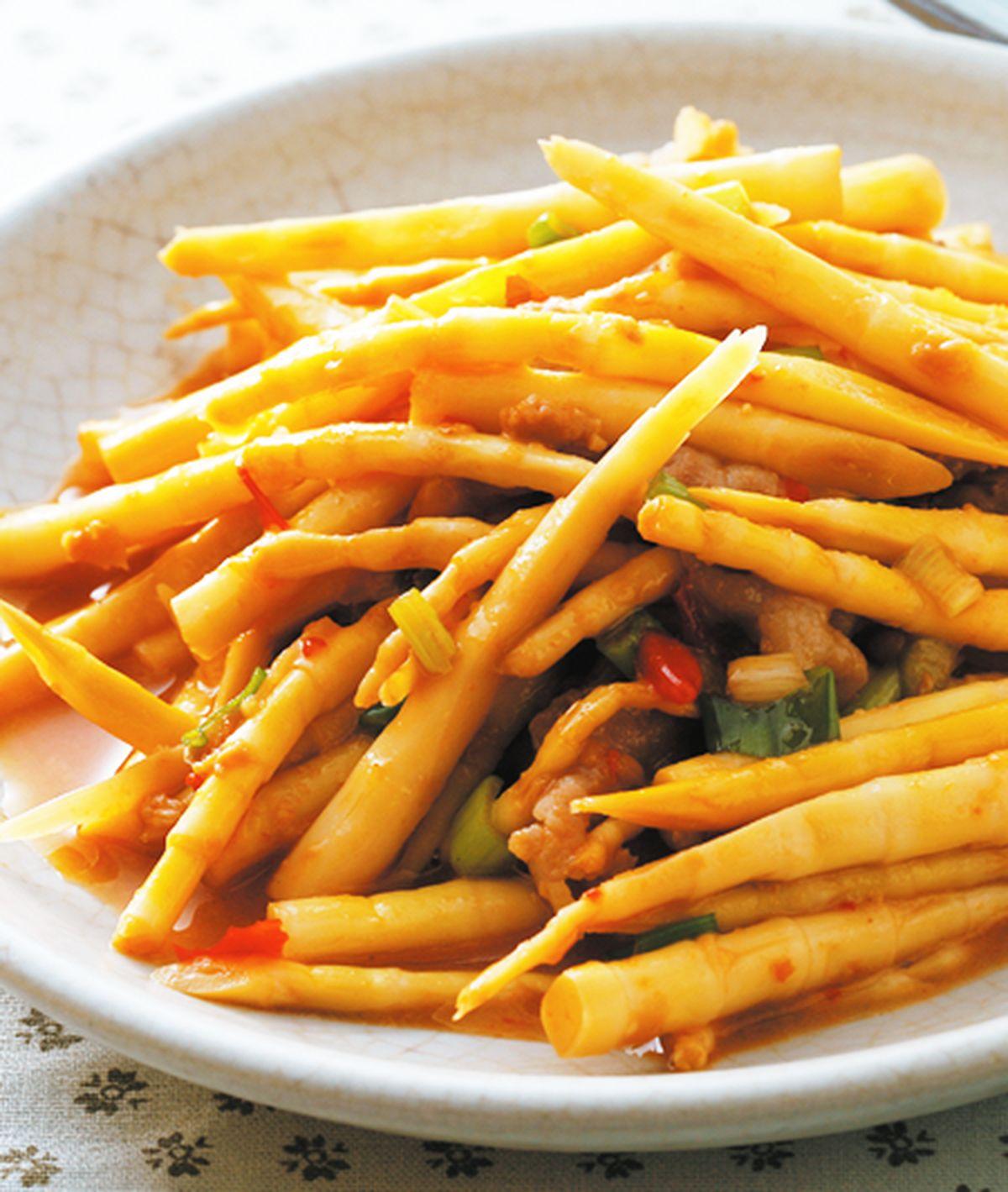 食譜:豆醬炒箭筍