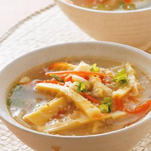 筍香味噌湯