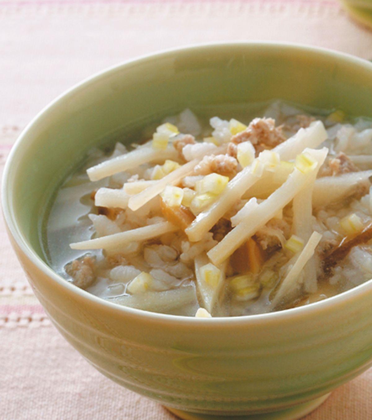 食譜:竹筍香菇粥