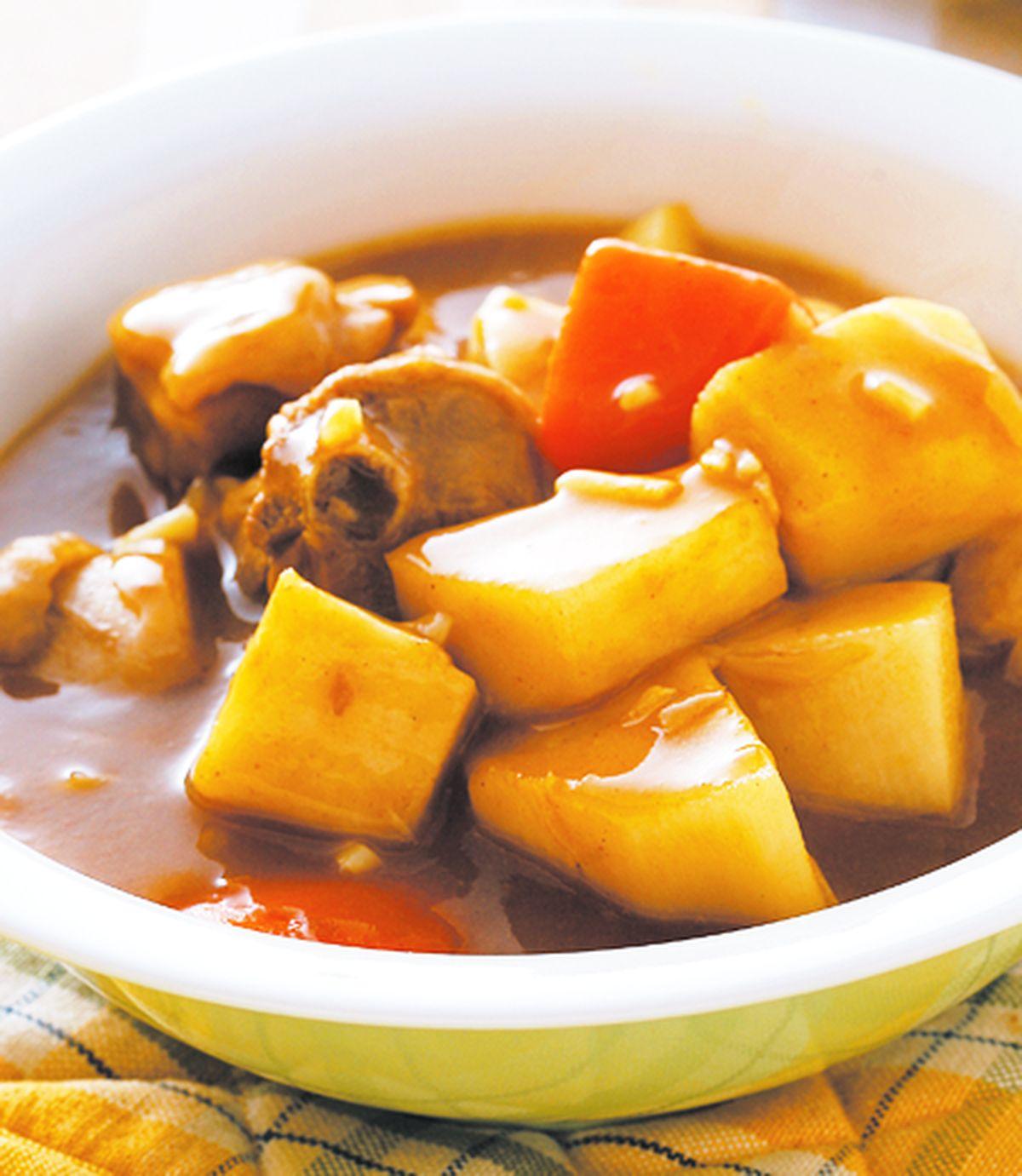 食譜:筍香咖哩