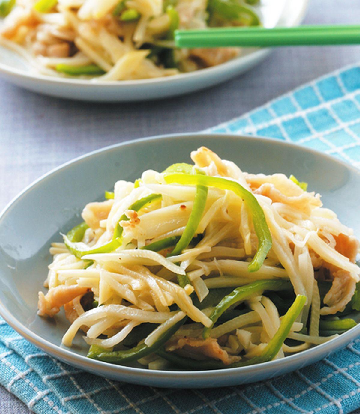 食譜:竹筍炒肉絲