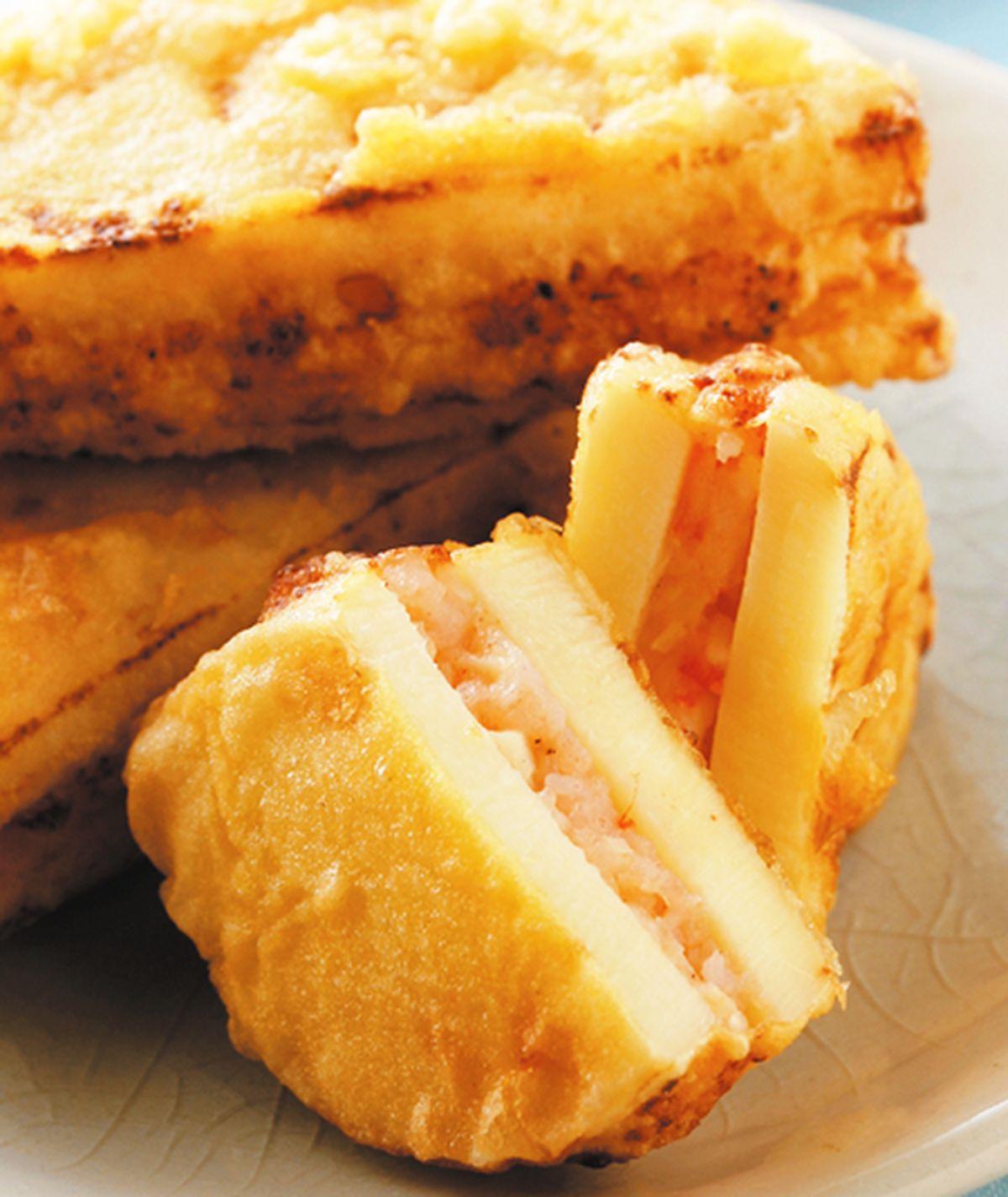 食譜:炸筍餅