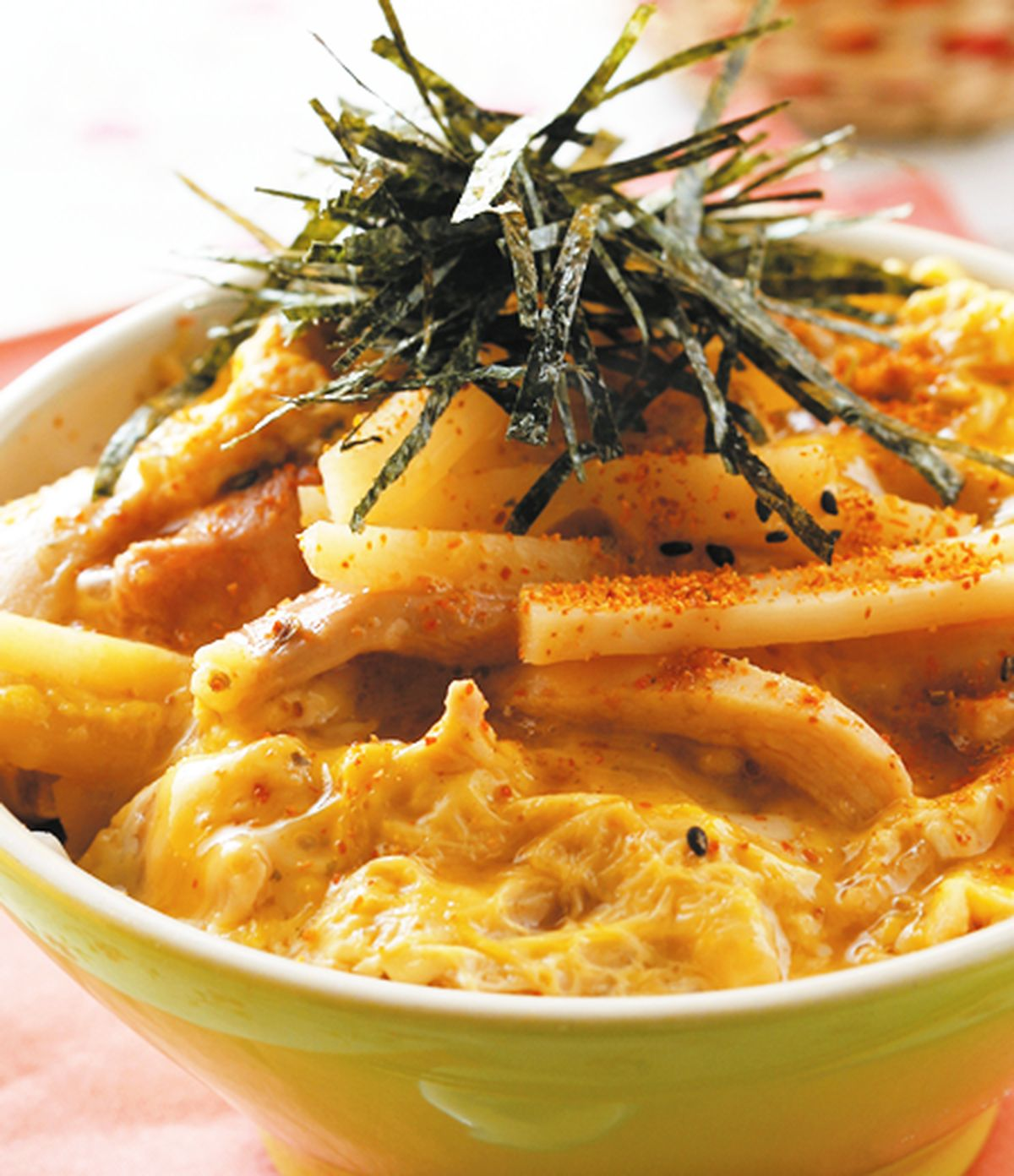 食譜:滑蛋筍香蓋飯