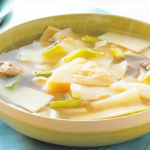 醬鳳梨脆筍排骨湯