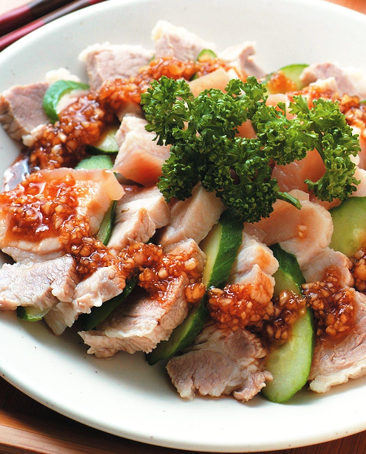 食譜:蒜泥白肉(3)