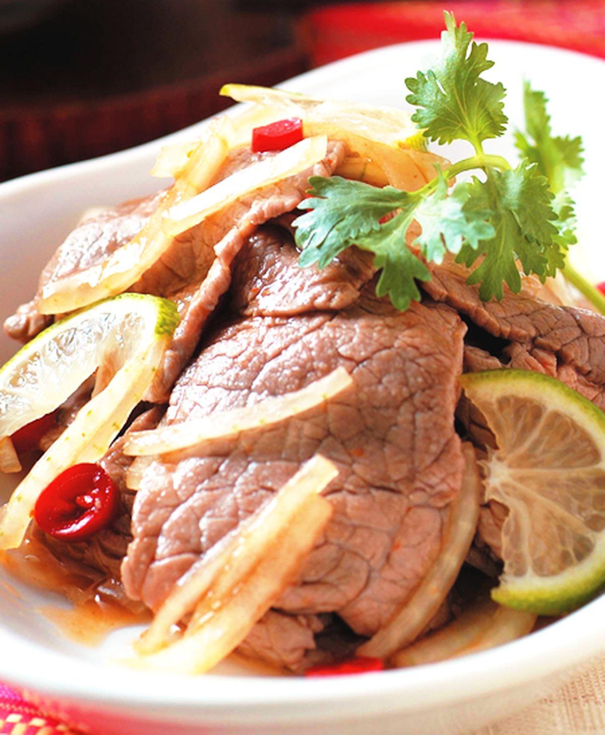 食譜:泰式涼拌牛肉(1)
