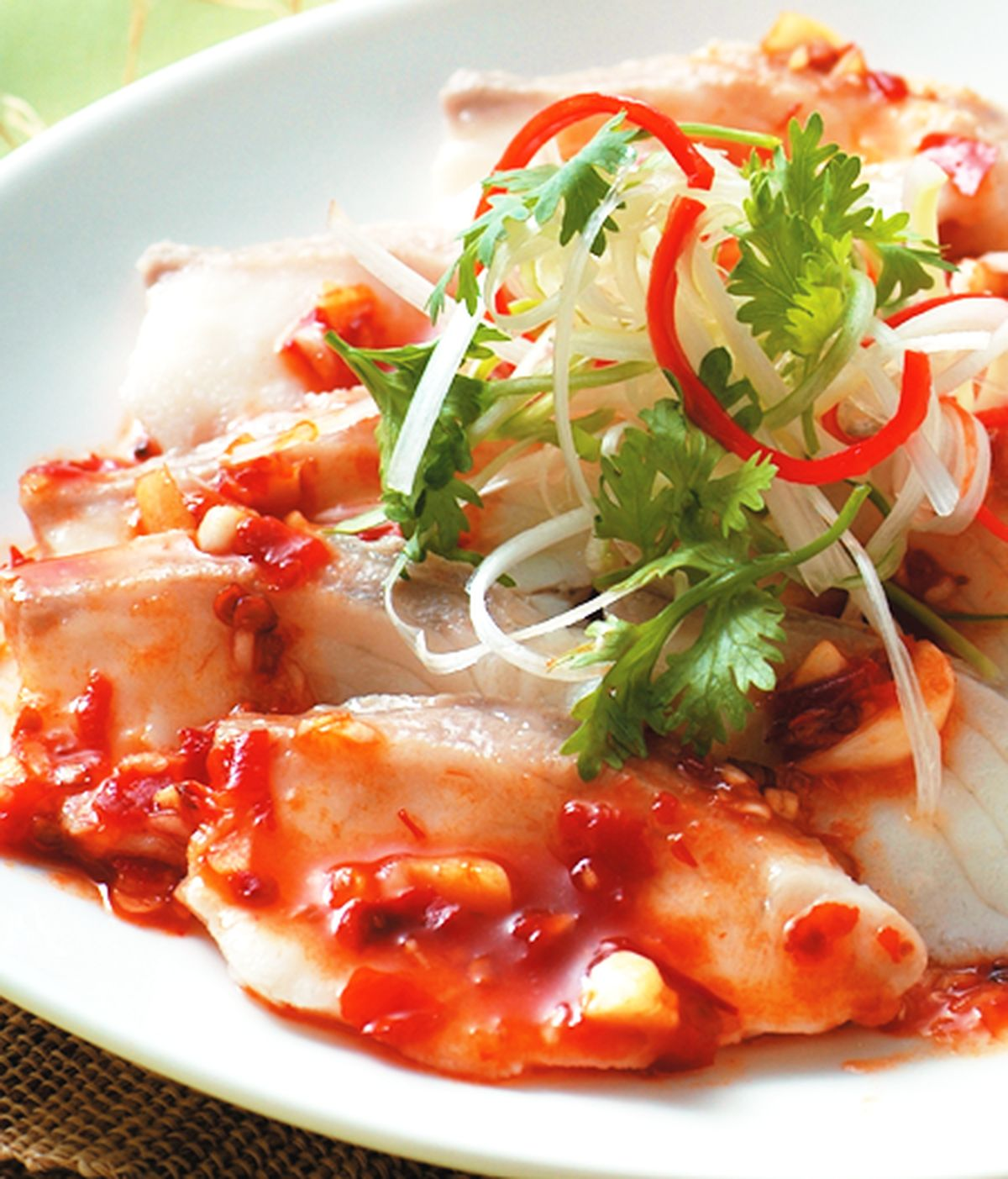 食譜:涼拌辣魚片