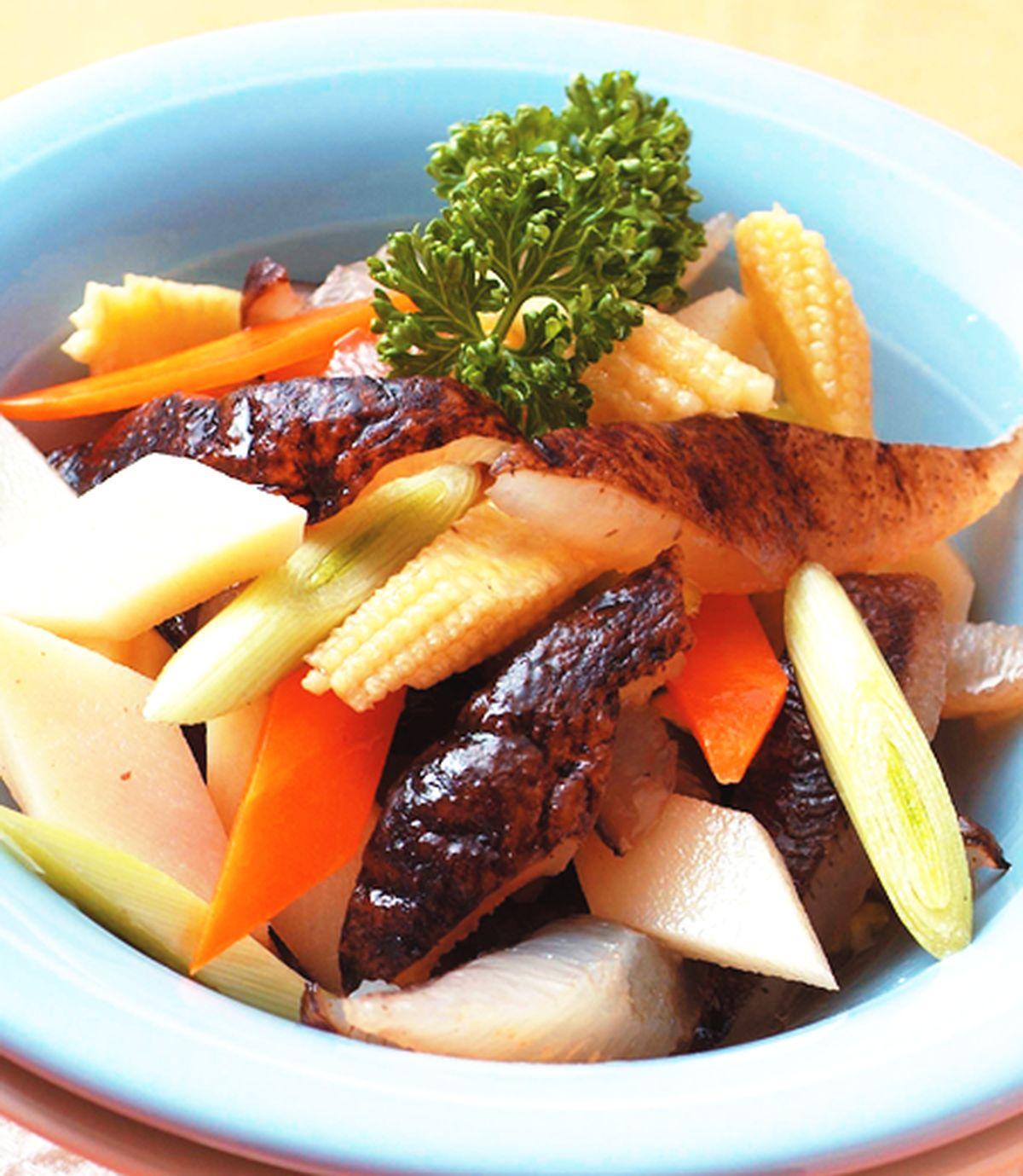 食譜:涼拌海參