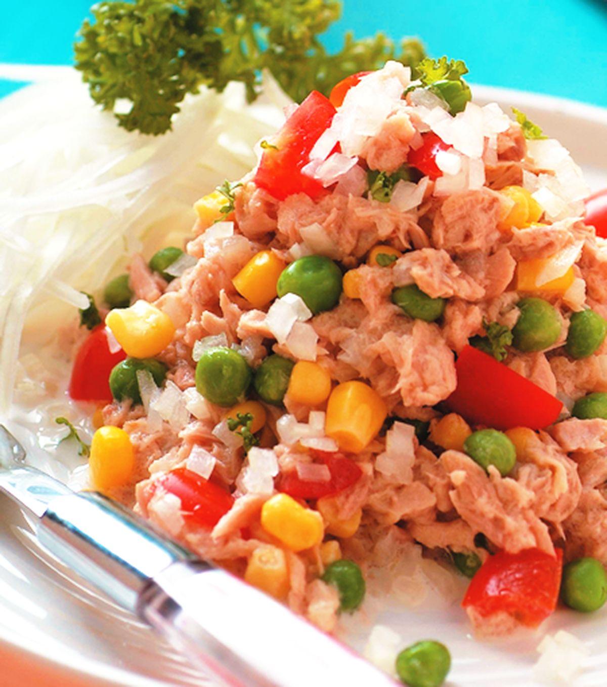 食譜:洋蔥拌鮪魚