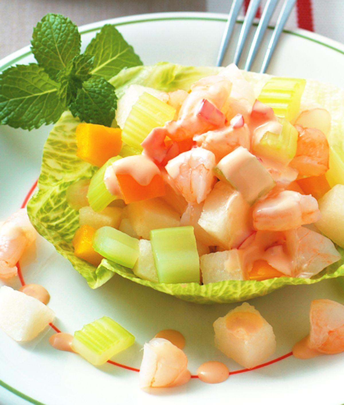 食譜:生菜蝦仁