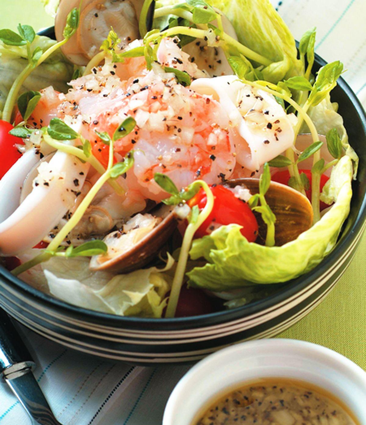 食譜:油醋海鮮